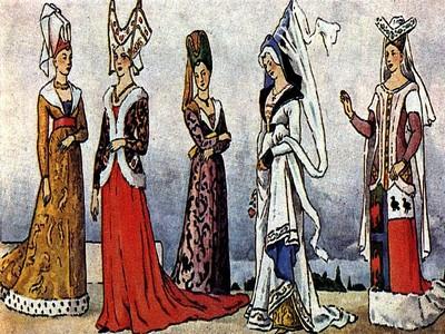 goticheskij stil v odezhde pozdnego srednevekovya Готический стиль в одежде позднего средневековья