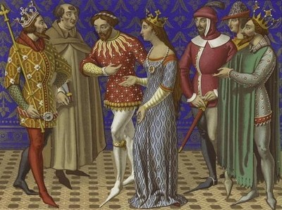 rannee srednevekove Раннее Средневековье и одежда раннего средневековья